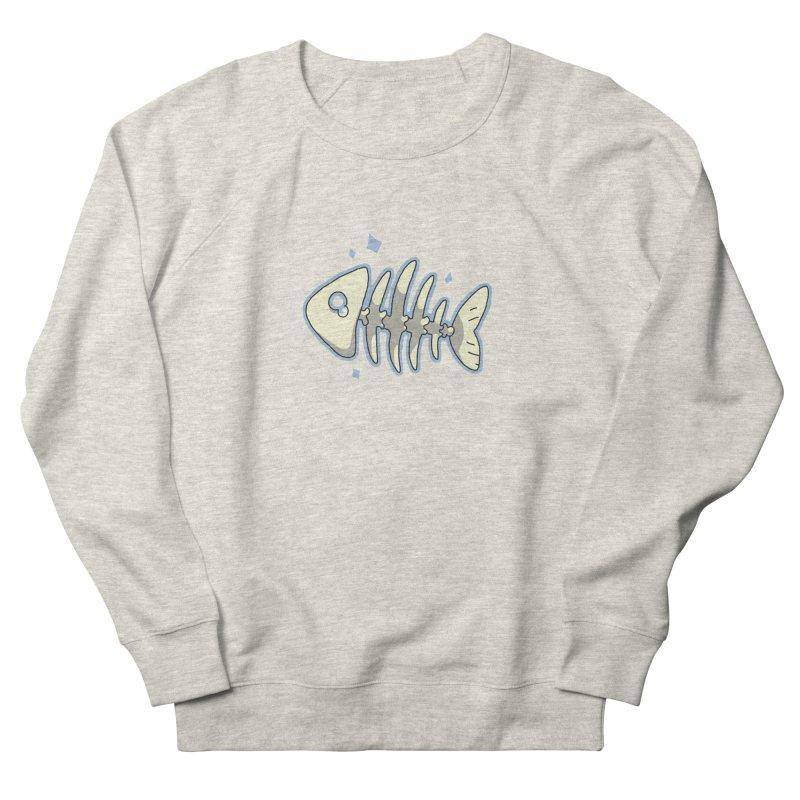 Fishbone Men's Sweatshirt by C.C. Art's Shop