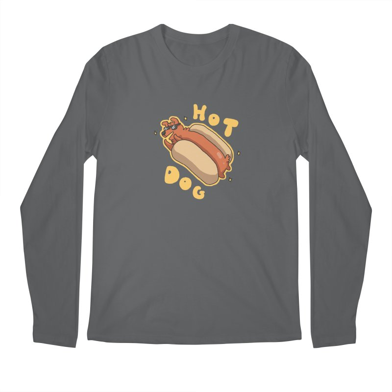 Hog Dog Men's Longsleeve T-Shirt by C.C. Art's Shop