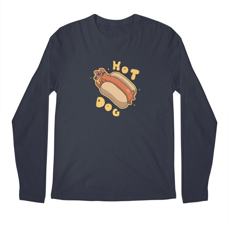 Hog Dog Men's Longsleeve T-Shirt by C.C. Art's Shop