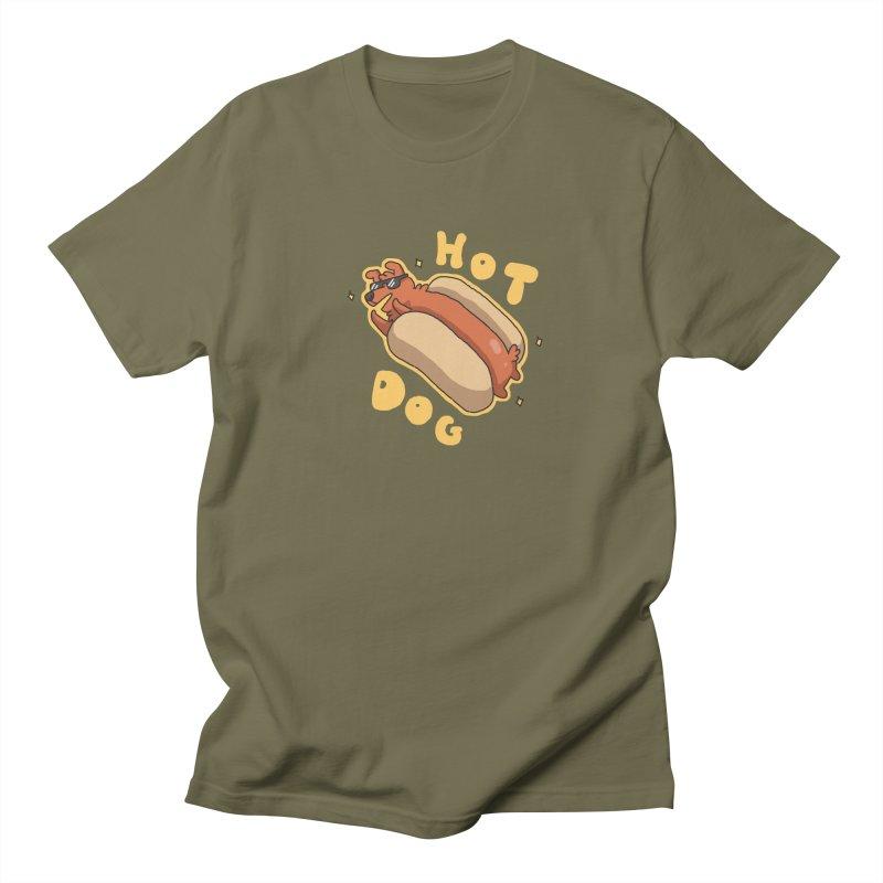Hog Dog Women's Unisex T-Shirt by C.C. Art's Shop
