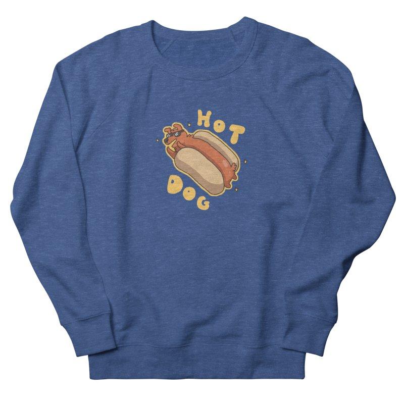 Hog Dog Women's Sweatshirt by C.C. Art's Shop