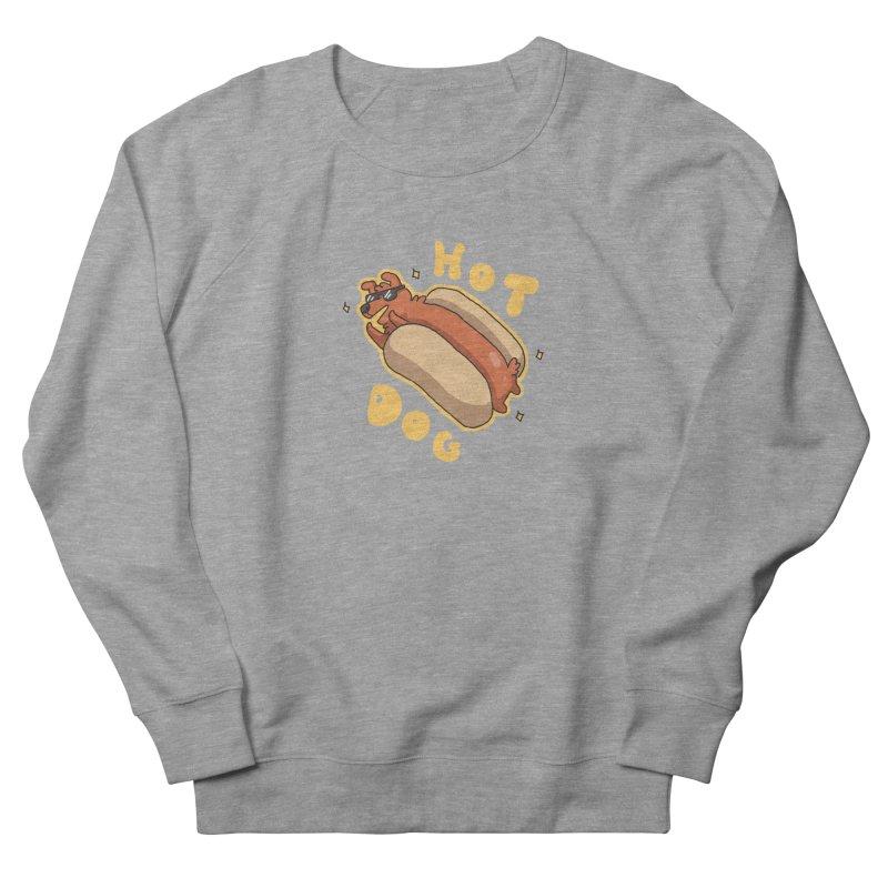 Hog Dog Men's Sweatshirt by C.C. Art's Shop