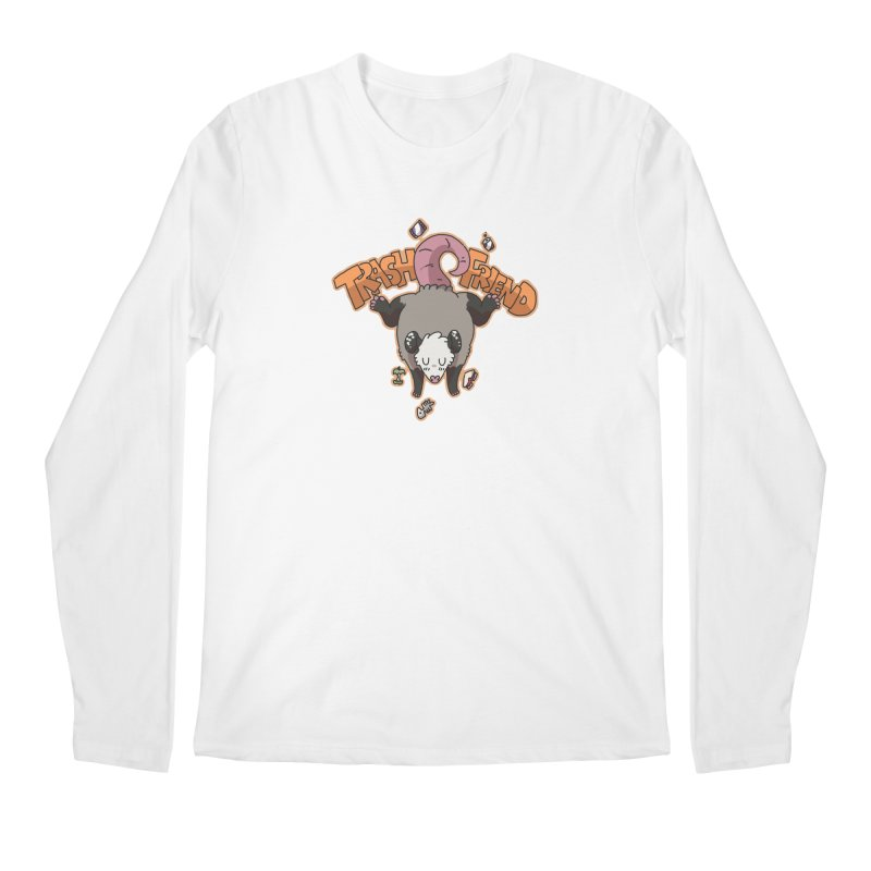 Trash Friend  Men's Longsleeve T-Shirt by C.C. Art's Shop