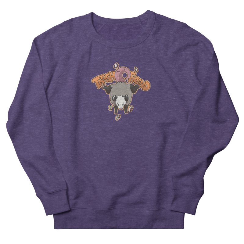 Trash Friend  Women's Sweatshirt by C.C. Art's Shop