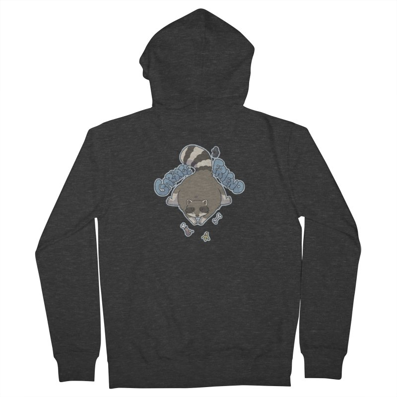 Garbage Friend  Women's Zip-Up Hoody by C.C. Art's Shop