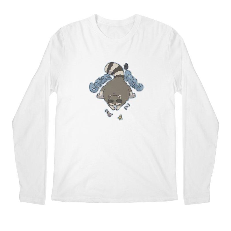 Garbage Friend  Men's Longsleeve T-Shirt by C.C. Art's Shop