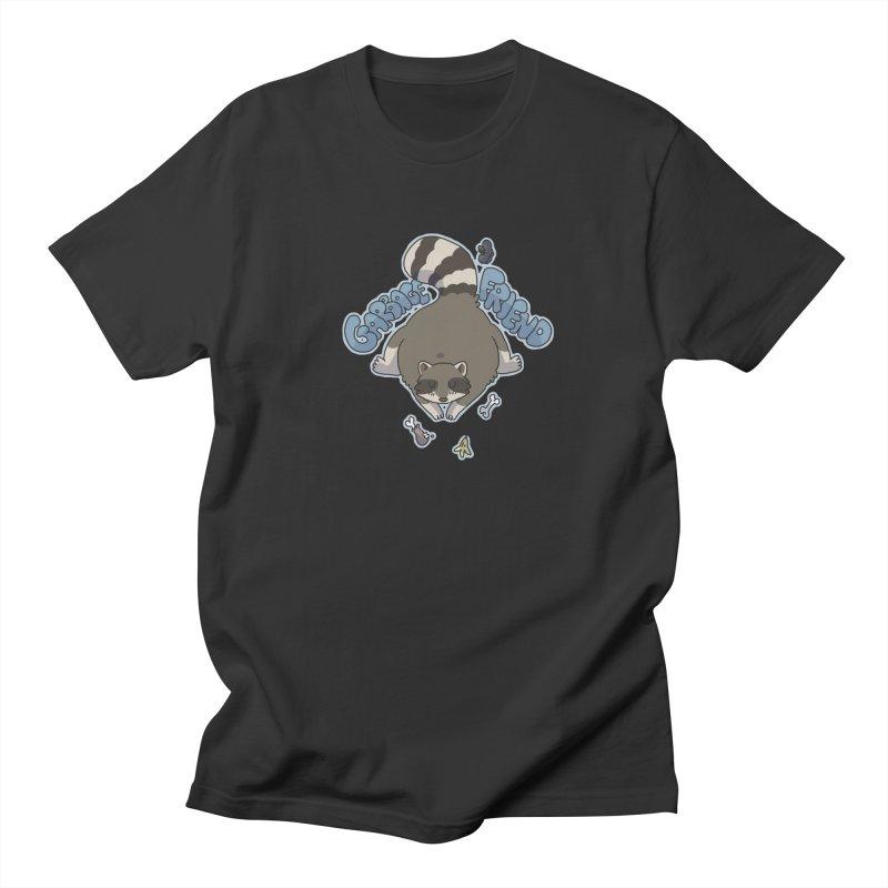 Garbage Friend  Men's T-Shirt by C.C. Art's Shop