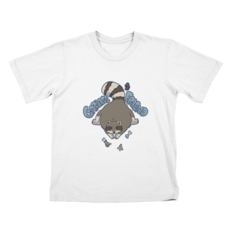 Garbage Friend  Kids T-Shirt by C.C. Art's Shop