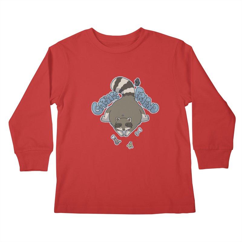 Garbage Friend  Kids Longsleeve T-Shirt by C.C. Art's Shop