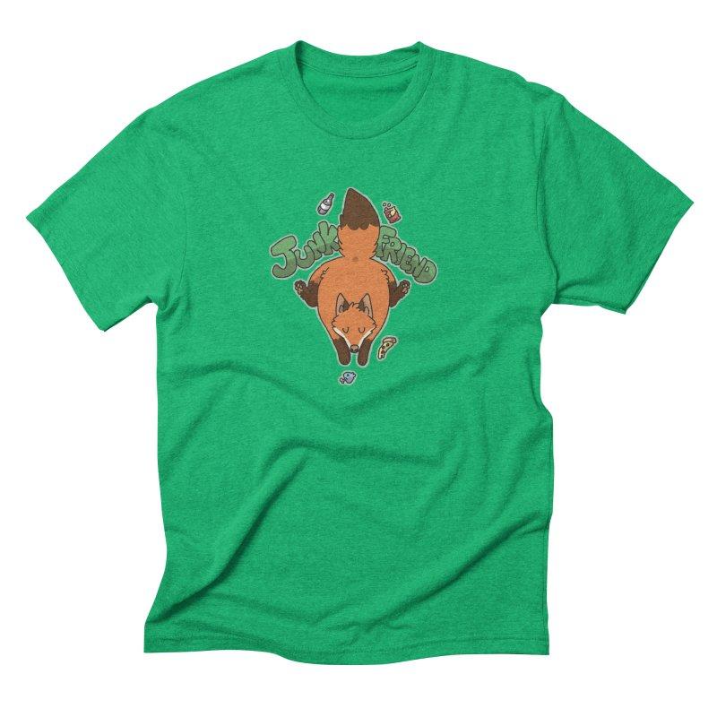 Junk Friend Men's Triblend T-Shirt by C.C. Art's Shop