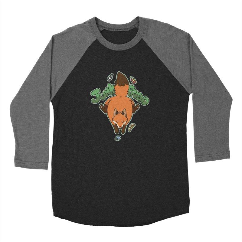 Junk Friend Women's Baseball Triblend T-Shirt by C.C. Art's Shop