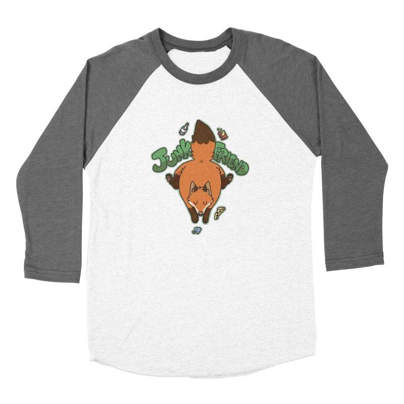 Junk Friend Men's Baseball Triblend T-Shirt by C.C. Art's Shop