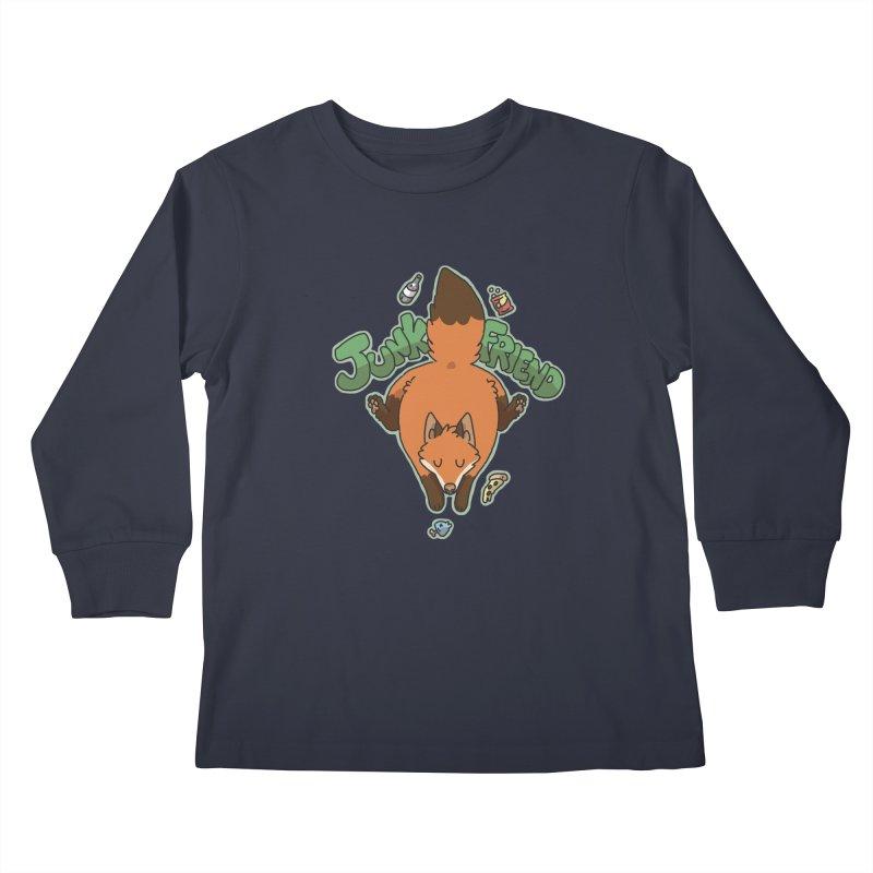 Junk Friend Kids Longsleeve T-Shirt by C.C. Art's Shop