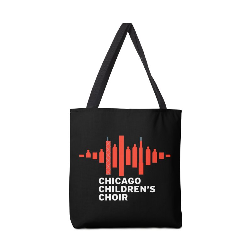 CCC Logo in Tote Bag by Chicago Children's Choir