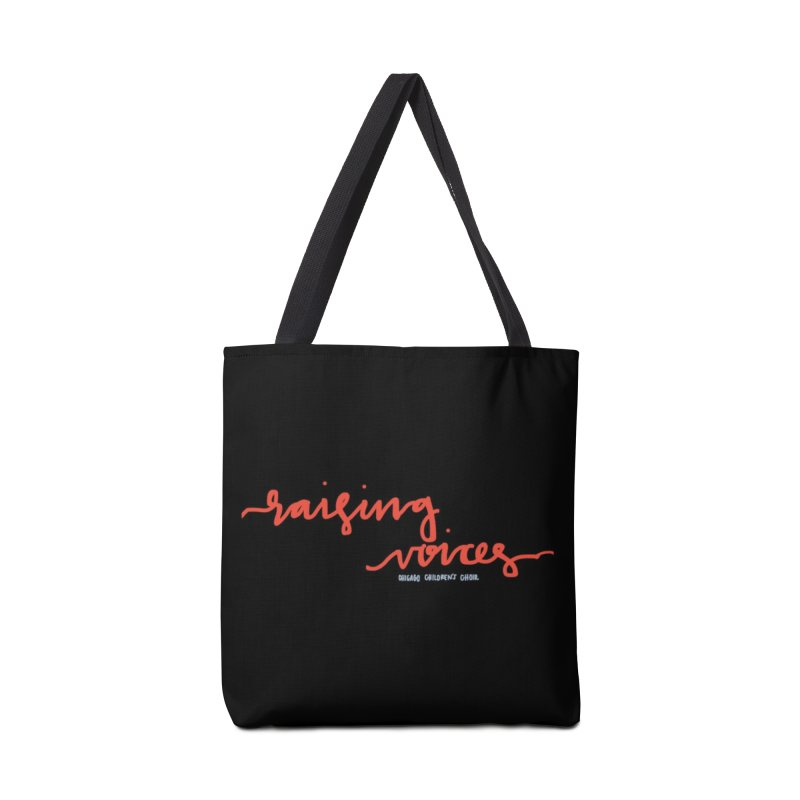 Raising Voices in Tote Bag by Chicago Children's Choir