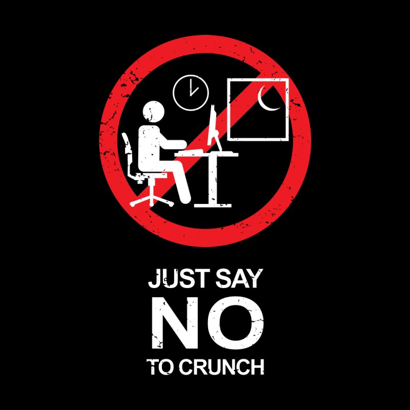 No Crunch Sign - 02 Men's T-Shirt by Swag by CCDesign