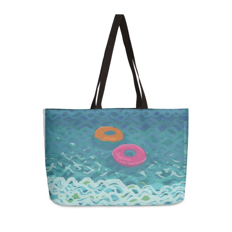 Floaties 2 Accessories Weekender Bag Bag by ccmicheau's Artist Shop