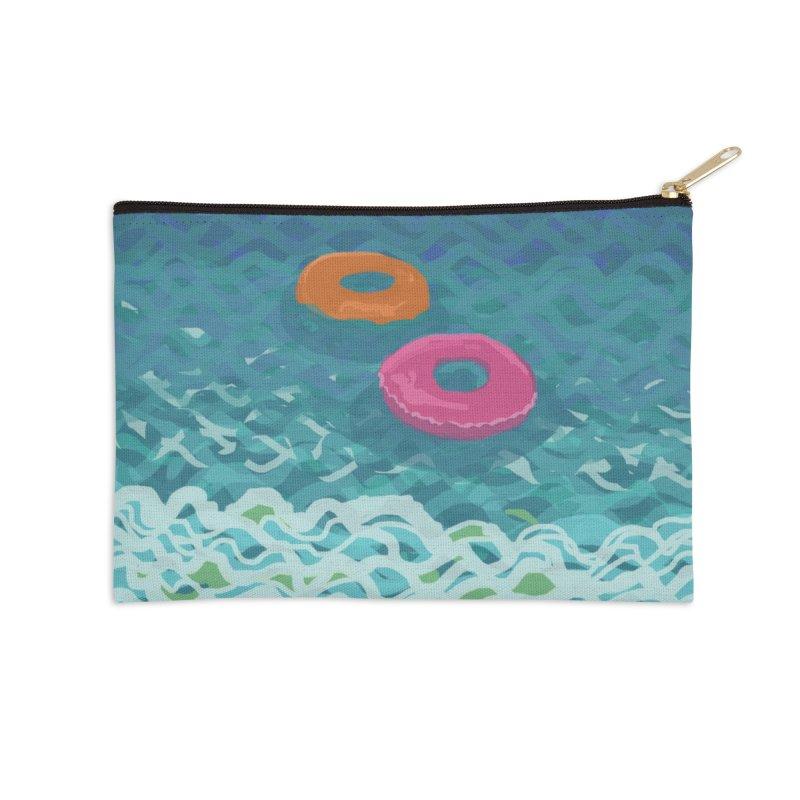 Floaties 2 Accessories Zip Pouch by ccmicheau's Artist Shop