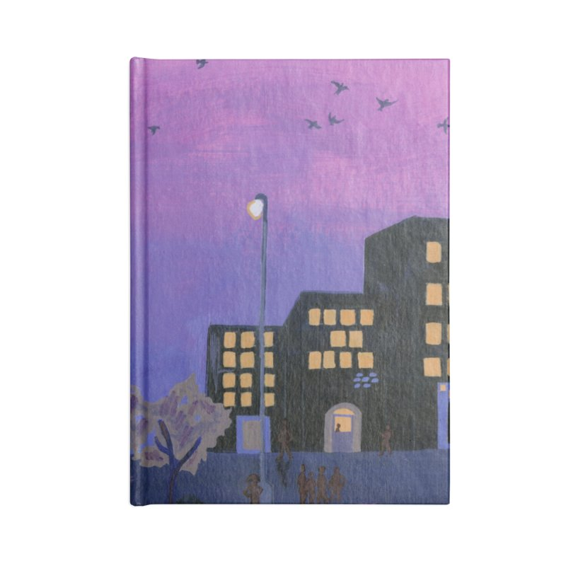 After the Streetlights Accessories Blank Journal Notebook by ccmicheau's Artist Shop