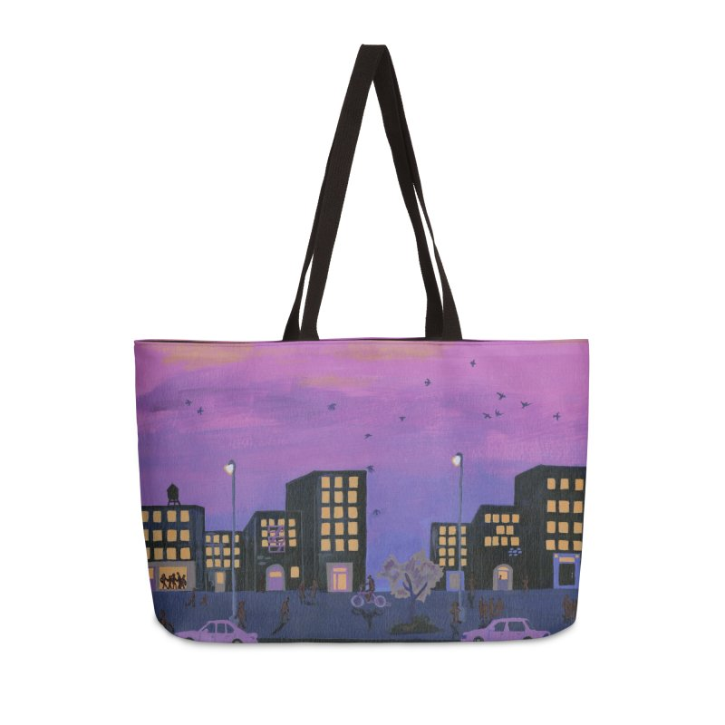 After the Streetlights Accessories Weekender Bag Bag by ccmicheau's Artist Shop