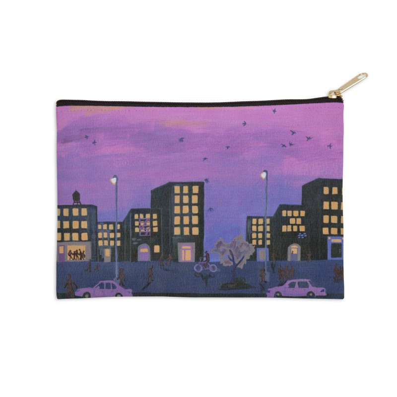After the Streetlights Accessories Zip Pouch by ccmicheau's Artist Shop