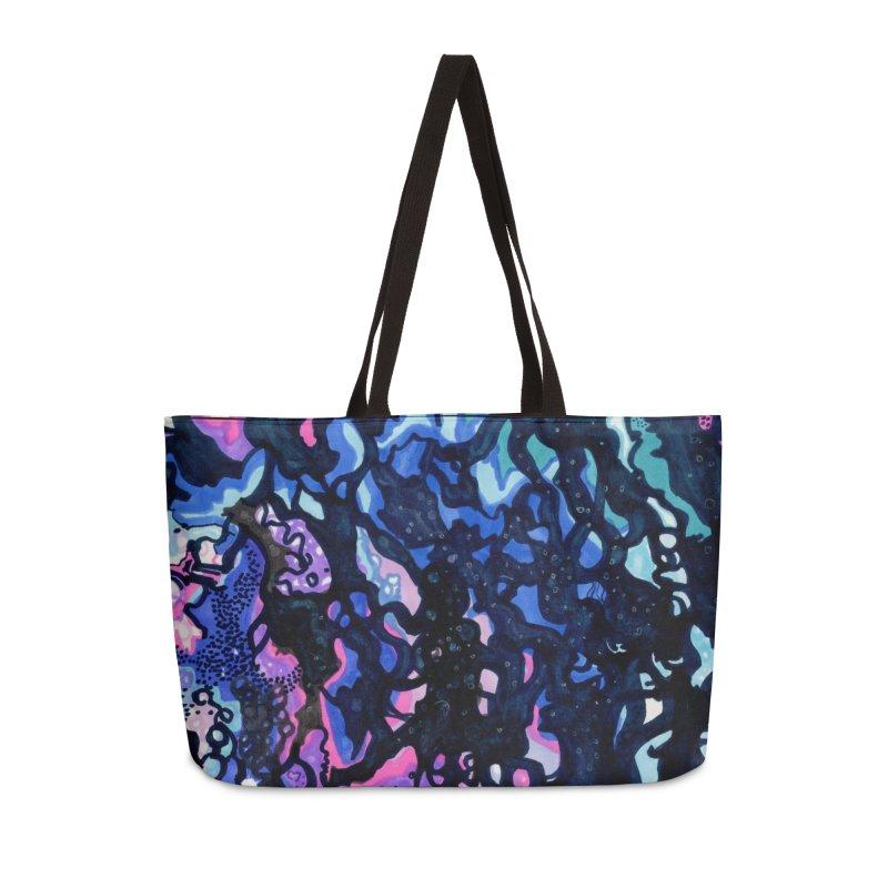Nebula Accessories Weekender Bag Bag by ccmicheau's Artist Shop