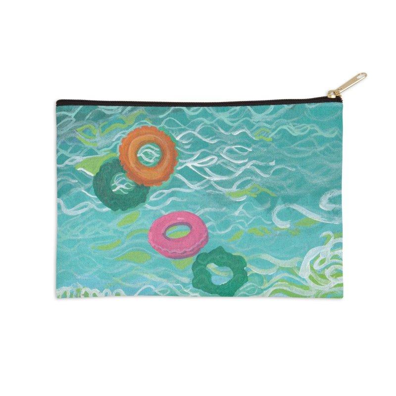 Floaties Accessories Zip Pouch by ccmicheau's Artist Shop