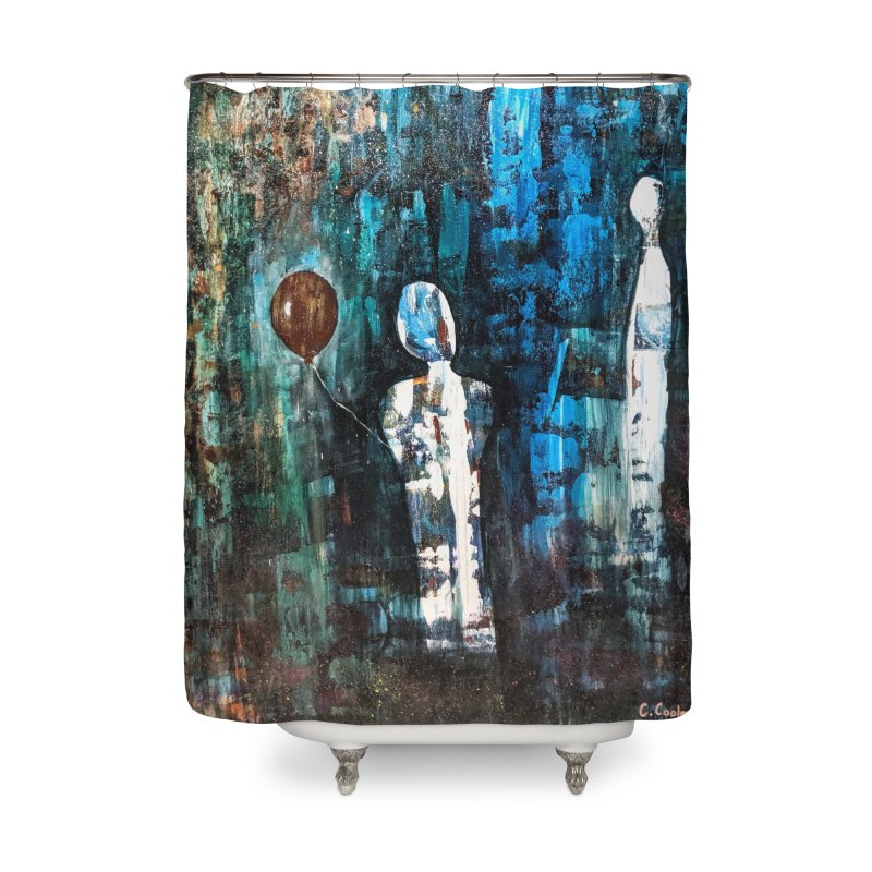 Memory Home Shower Curtain by C. Cooley's Artist Shop