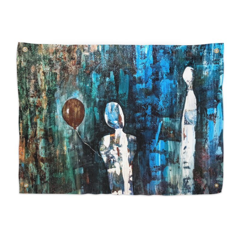 Memory Home Tapestry by C. Cooley's Artist Shop