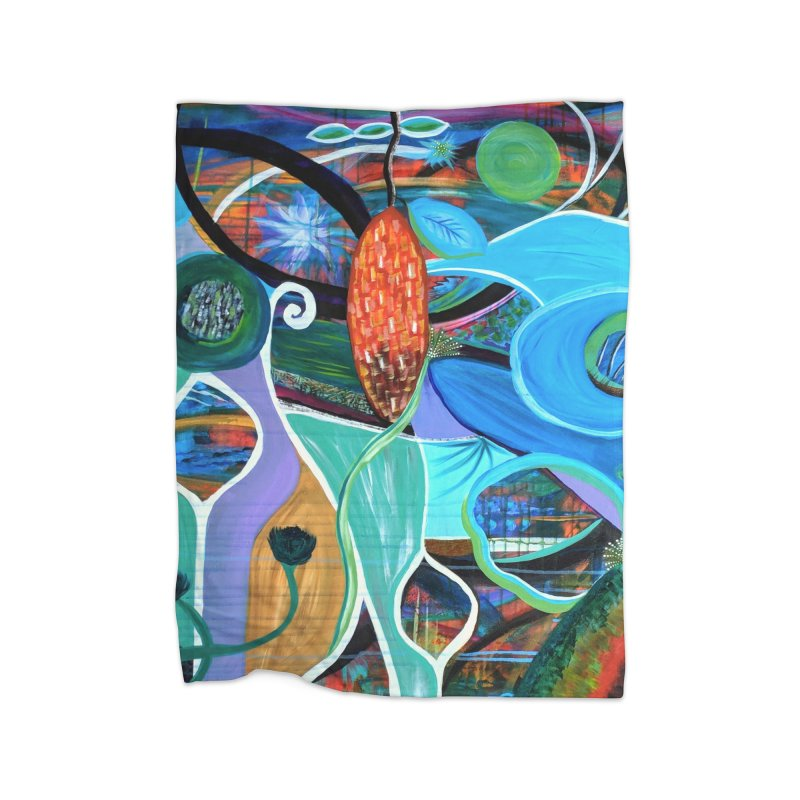 Renewal Home Blanket by C. Cooley's Artist Shop