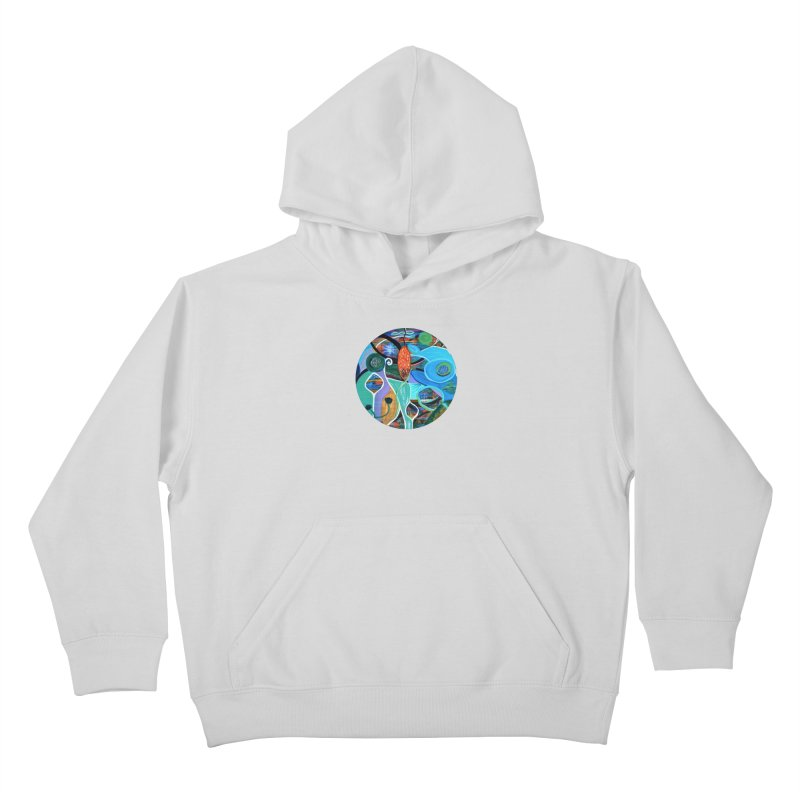 Renewal Kids Pullover Hoody by C. Cooley's Artist Shop