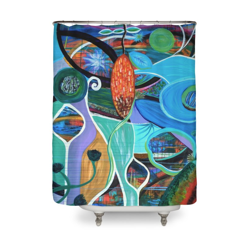 Renewal Home Shower Curtain by C. Cooley's Artist Shop