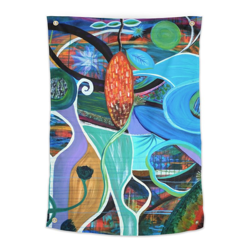 Renewal Home Tapestry by C. Cooley's Artist Shop