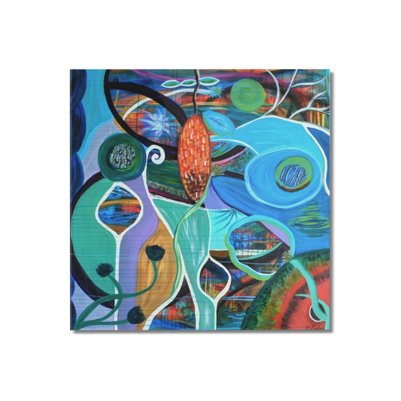 Renewal Home Mounted Acrylic Print by C. Cooley's Artist Shop