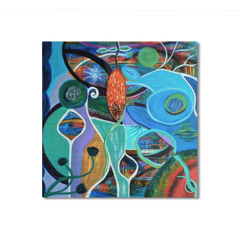 Renewal Home Mounted Aluminum Print by C. Cooley's Artist Shop