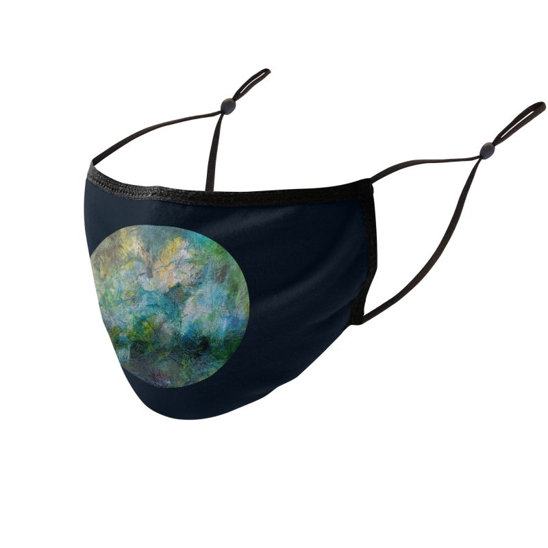 Vitality Accessories Face Mask by C. Cooley's Artist Shop