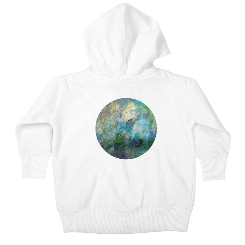 Vitality Kids Baby Zip-Up Hoody by C. Cooley's Artist Shop