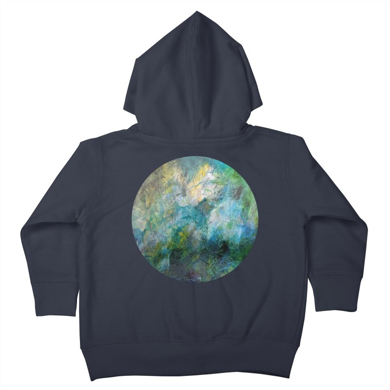 Vitality Kids Toddler Zip-Up Hoody by C. Cooley's Artist Shop