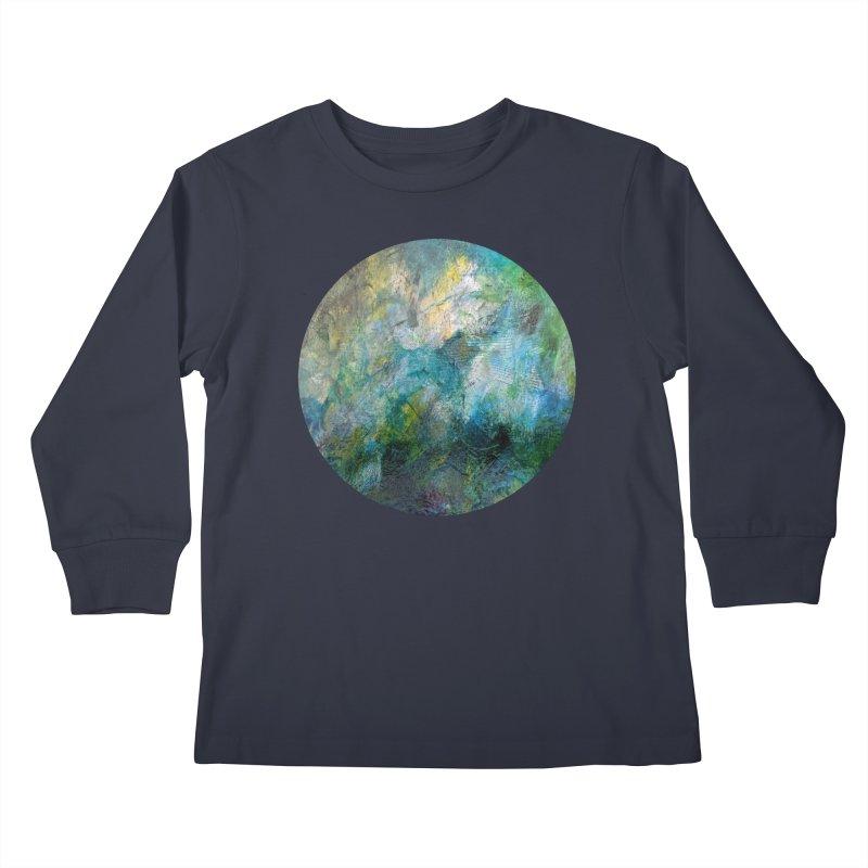 Vitality Kids Longsleeve T-Shirt by C. Cooley's Artist Shop