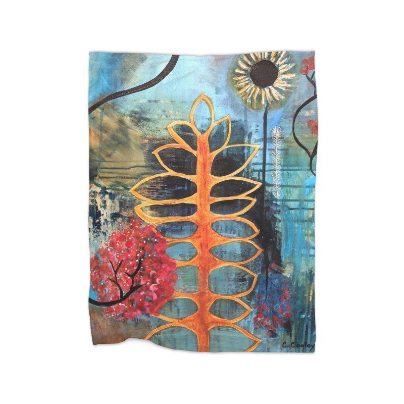 Rains Home Blanket by C. Cooley's Artist Shop