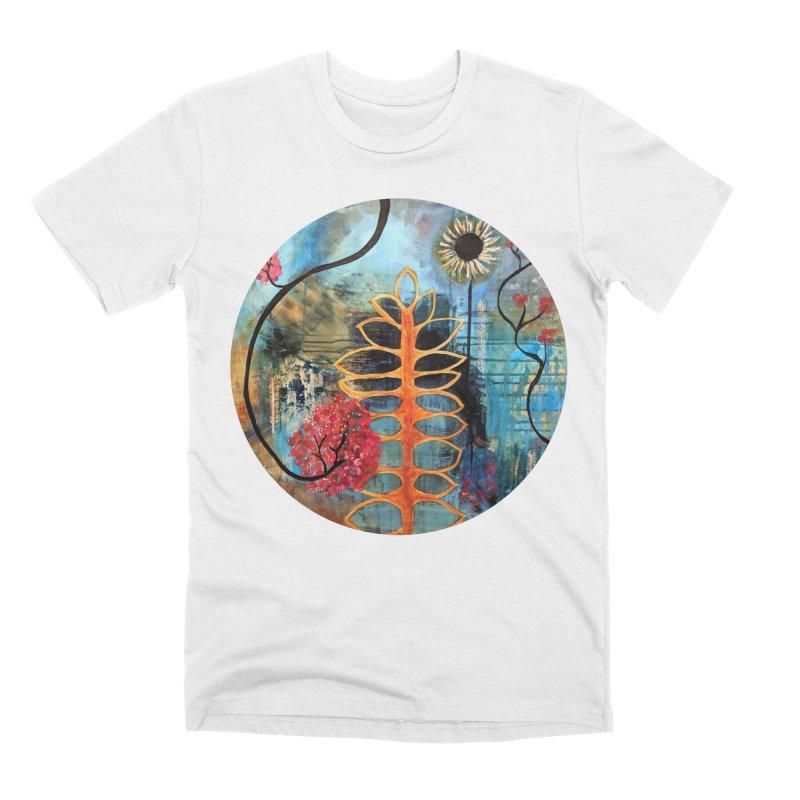 Rains Men's T-Shirt by C. Cooley's Artist Shop