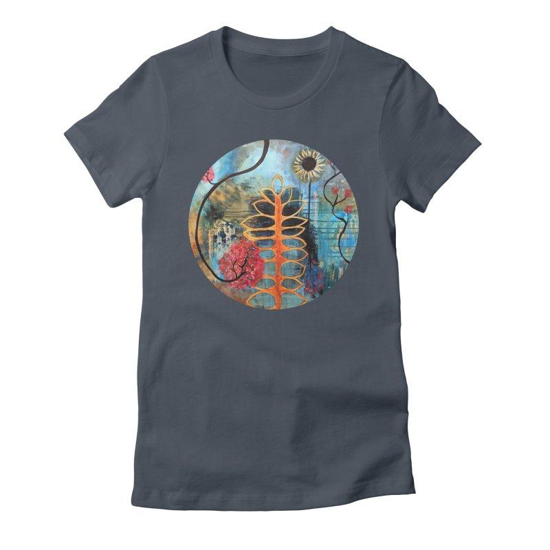 Rains Women's T-Shirt by C. Cooley's Artist Shop