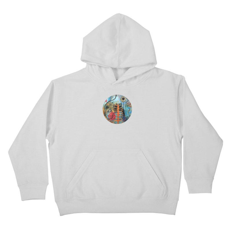 Rains Kids Pullover Hoody by C. Cooley's Artist Shop
