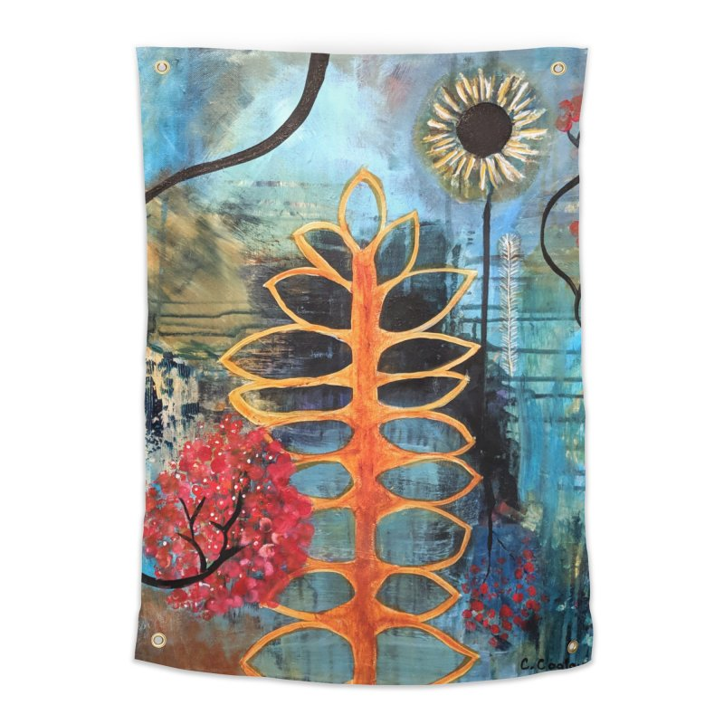 Rains Home Tapestry by C. Cooley's Artist Shop