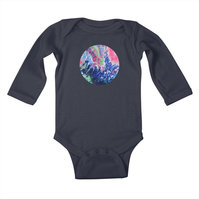 Confection Kids Baby Longsleeve Bodysuit by C. Cooley's Artist Shop