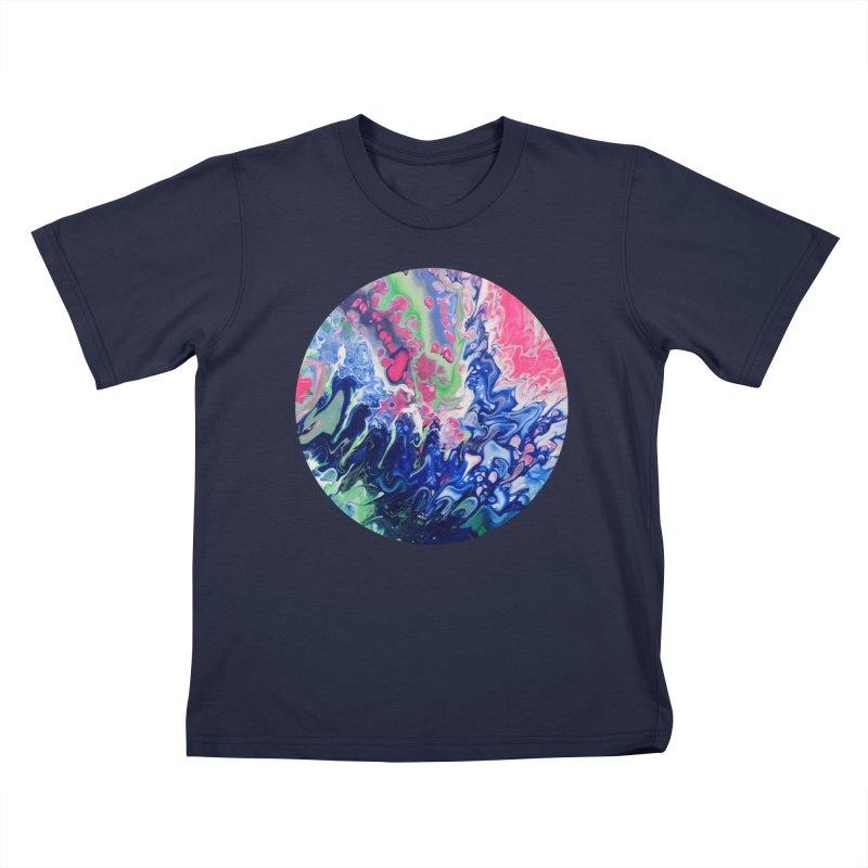 Confection Kids T-Shirt by C. Cooley's Artist Shop