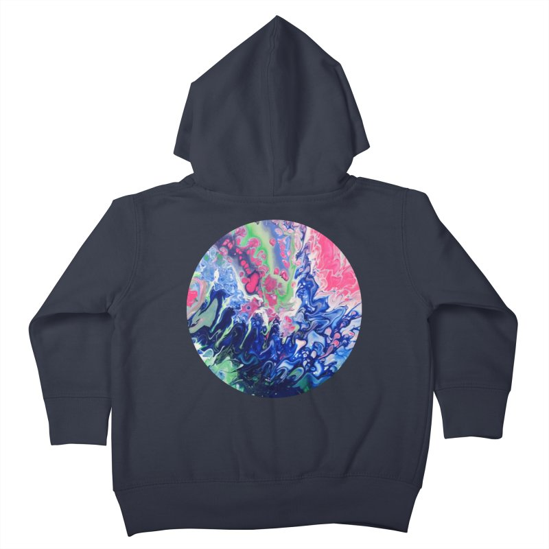 Confection Kids Toddler Zip-Up Hoody by C. Cooley's Artist Shop