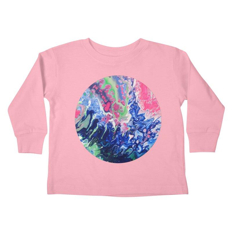 Confection Kids Toddler Longsleeve T-Shirt by C. Cooley's Artist Shop