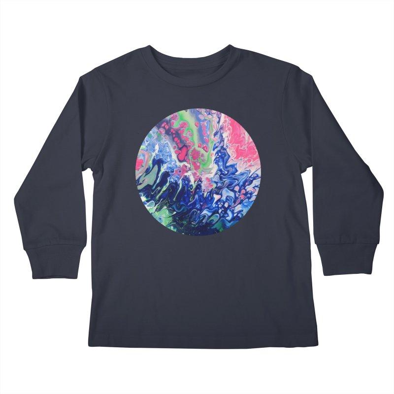 Confection Kids Longsleeve T-Shirt by C. Cooley's Artist Shop