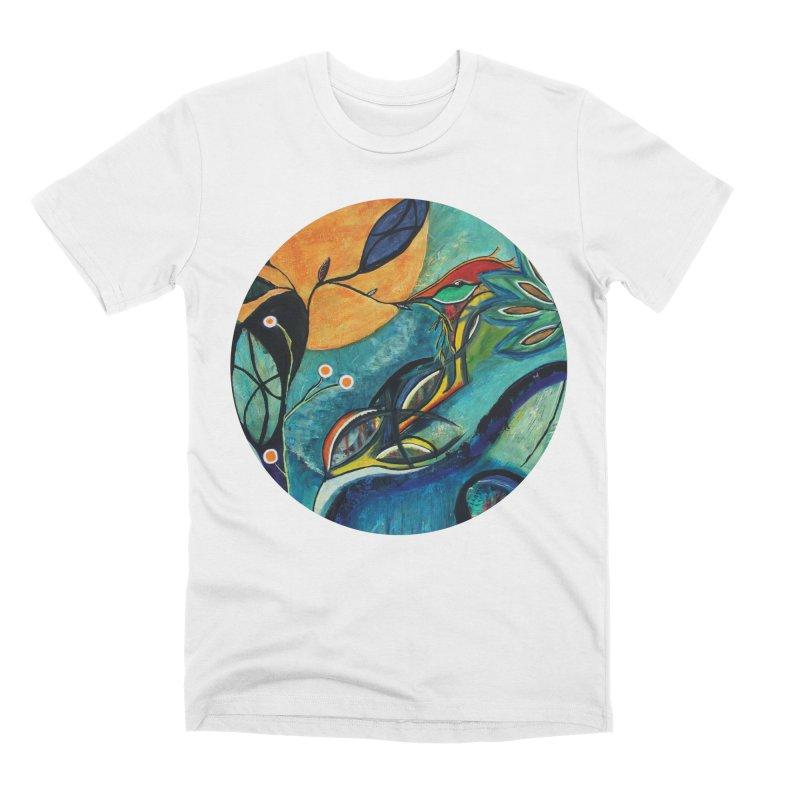 Glimmer Men's T-Shirt by C. Cooley's Artist Shop